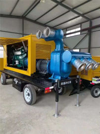 500立方抗洪柴油抽水泵
