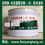 水泥基聚合物(JS)防水塗料、生產銷售、廠家直供