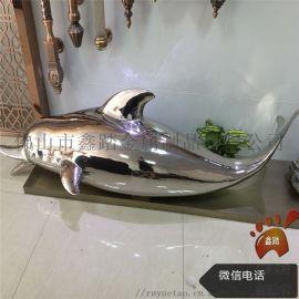 不锈钢雕塑,室外镜面海豚雕塑,动物雕塑报价
