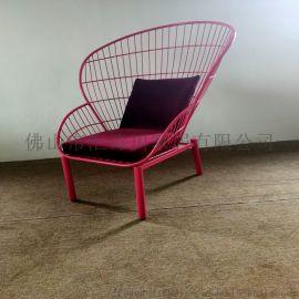 铁艺时尚椅子 佛山无HSC-I-001椅子