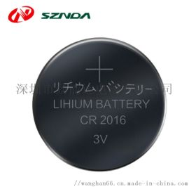 CR2016纽扣电池防盗器电池