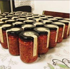 辣椒酱瓶玻璃罐酱菜瓶蜂蜜瓶果酱瓶调味瓶密封罐储物瓶