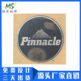 定做渔具金属贴纸超薄纯镍金属标贴电铸金属字logo