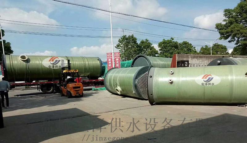 地埋式一體化污水泵站的組成配件