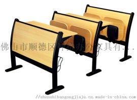 神拾学校学生课桌椅 多媒体教室排椅