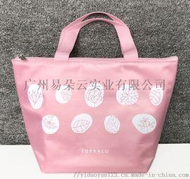 新款定制便当手提包野餐包饭盒包餐具女性午餐袋