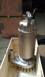 小型污水泵全不锈钢丝口离心潜水潜污泵