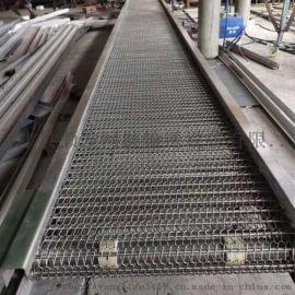 链板输送机不锈钢链板流水线