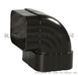 北京铝合金天沟别墅房檐接雨水槽屋檐彩铝排水管檐沟
