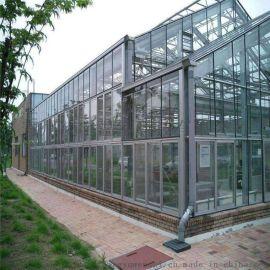 现代化新型智能温室玻璃智能温室建设生态温室项目