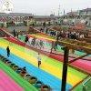 新疆吉昌大型网红桥多人玩乐,现场人山人海