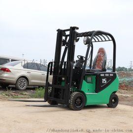 捷克环保升高搬运推高叉车 1.5吨3米半电动叉车