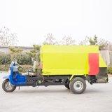 涼城縣電動撒料車 雙側撒料車圖片