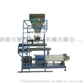 济南水产饲料生产线  双螺杆鱼饲料膨化机