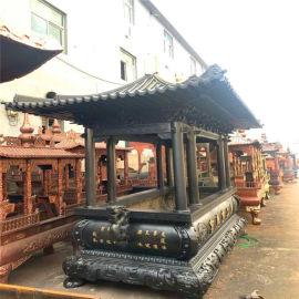 昌东工艺厂供应长方形香炉,寺庙铸铁长方形香炉厂家