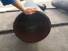 河南耐磨管道稀土合金耐磨管 耐磨管件厂家江河机械厂