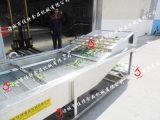 净菜加工厂需要多少设备, 湖南涡流式净菜生产线