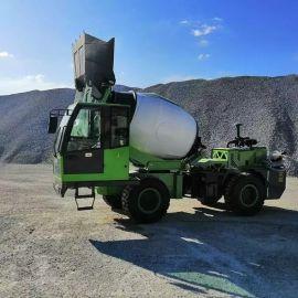 混凝土自动上料搅拌车 3立方小型混凝土搅拌车