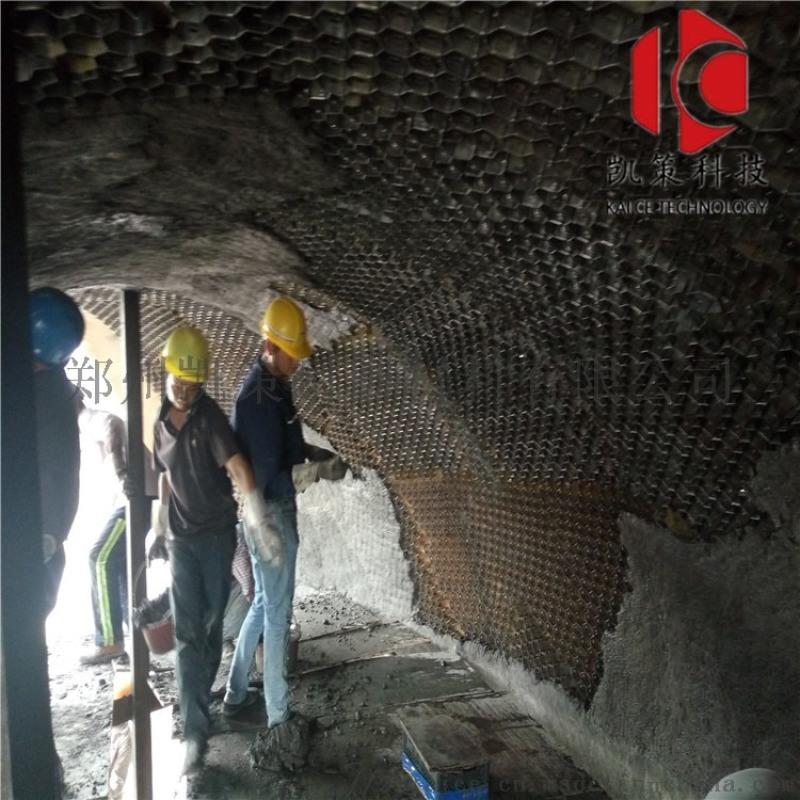 龟甲网防磨料 电厂烟道高温耐磨涂料 耐磨胶泥