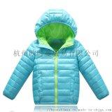 冬季新款童装棉服加厚拼色儿童棉衣