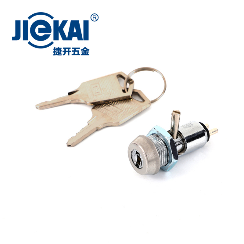 JK015 电源锁 开孔12mm 捷开车载DVR锁