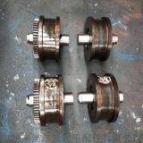直徑200/300/400LD輪單雙樑起重機車輪組