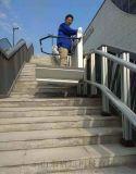 營口市戶外升降臺殘疾人電梯輪椅升降設備定製斜掛電梯