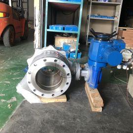 调节型铸钢电动球阀Q941F-16C法兰电动球阀