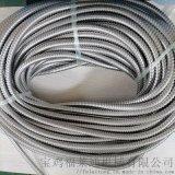 廠家供應南通機械廠用304不鏽鋼雙扣金屬軟管