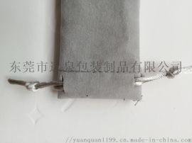 鋼筆保護套絨布束口袋長款抽繩縮口收納袋支持定制筆袋