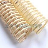 耐磨高溫食品級pu塑筋增強吸塵輸送軟管