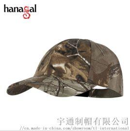 帽子定制工厂 专业户外用品 迷彩棒球帽