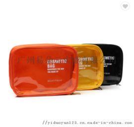 透明PVC化妆包韩版透明化妆盒