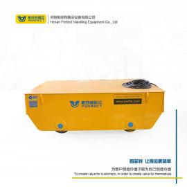 厂内电瓶搬运车压力容器产品拖缆式轨道车 转运电瓶车