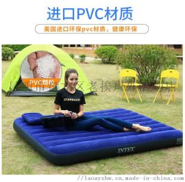 露营垫图片 充气垫 石林县潮垫 INTEX充气垫