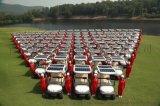 最新太陽能高爾夫球車旅遊觀光車