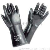 霍尼韋爾2095025防化手套 防滑加厚耐磨手套