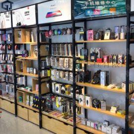 手机店货架厂家 手机数码配件店展示柜 手机展示架
