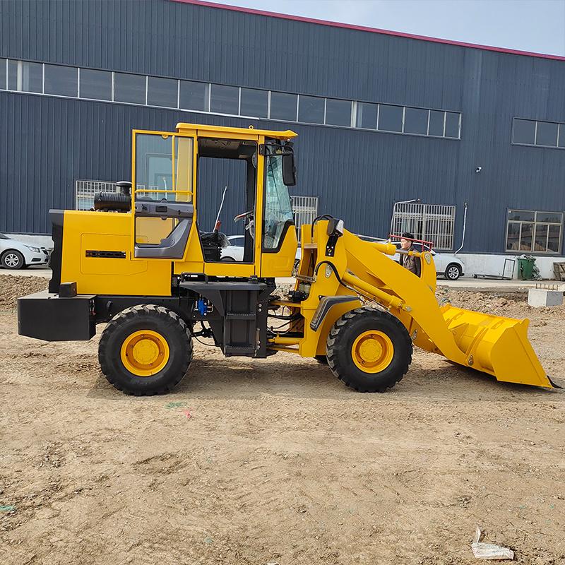 现货  新款915装载机 小型建筑工地沙石装载机