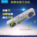工業流水線除靜電SL-002除靜電離子風機/除靜電風扇/雙頭離子風機