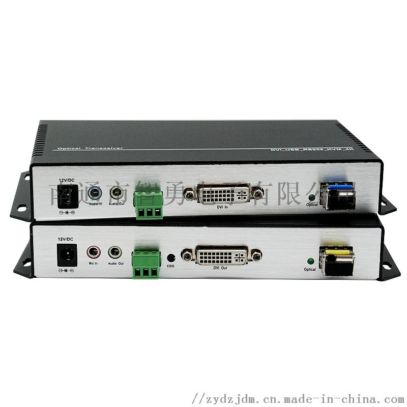 智勇DVI KVM光端机光纤延长器4K