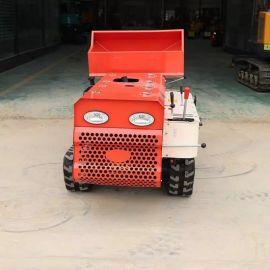 厂家直销 履带微耕机 多功能自走式果园开沟施肥机