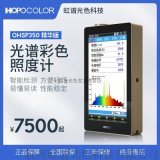 色溫測試儀 led燈具手持式色溫儀器 顯色指數測試 色彩照度計