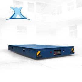 PC构件搬运台车 大吨位重载轨道电动平板车