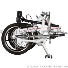 20寸 铝合金轻便无链条内三速 传动轴自行车