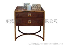 鑫广意不锈钢床头柜弧形造型富有艺术情趣