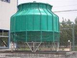 厂家直销圆形逆流式玻璃冷却塔 低噪音型玻璃钢冷却塔