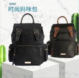 厂家直销容量大功能性时尚妈咪包耐用舒适妈咪包可定制