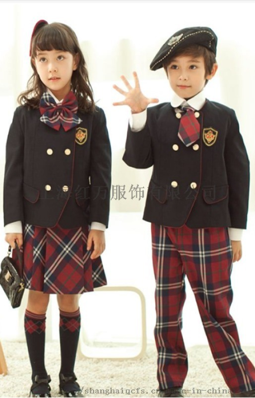 高中小学生校服 幼儿园园服老师服装定制 制服 定制