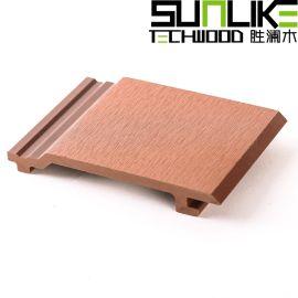 木塑墙板户外生态木墙板防腐防水塑木墙板塑木户外墙板